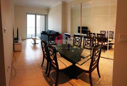 1 Bedroom Flat for Rent in Dubai Marina, Dubai - Fully Furnished with Nice View in Marina