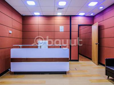 Office for Rent in Bur Dubai, Dubai - Working Space  near Burjuman Mall for renewal of license