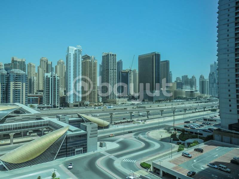 Spacious office in JLT with Lake View