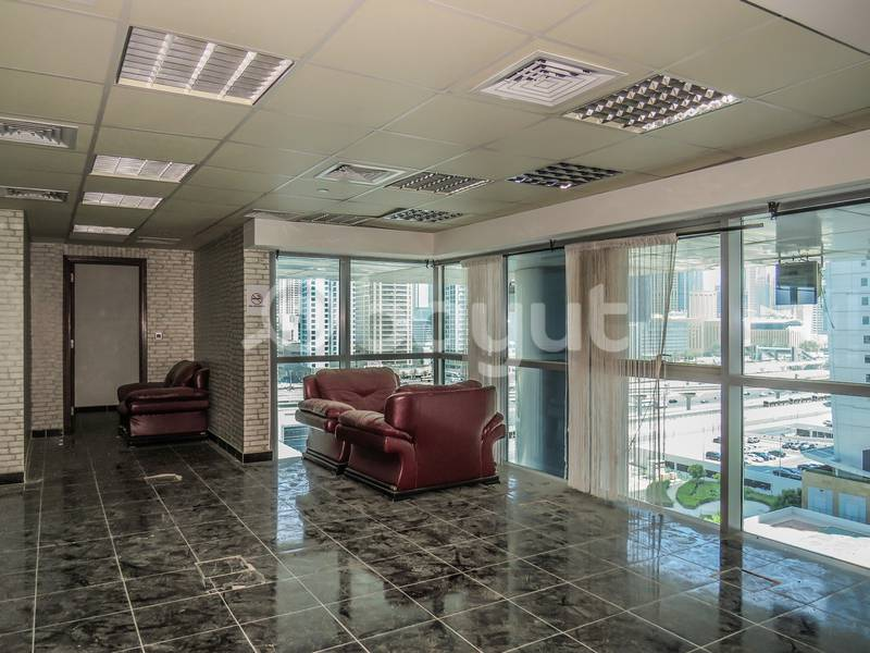 2 Spacious office in JLT with Lake View