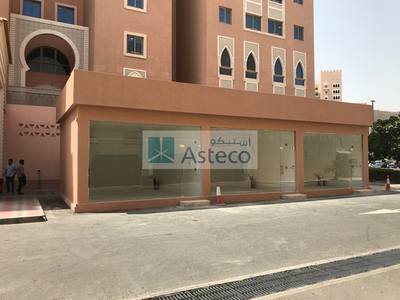 Shop for Rent in Discovery Gardens, Dubai - Retail shop semi fitted located in The Offices at Ibn Battuta Gate