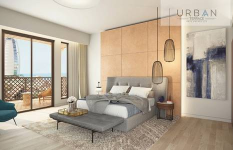 1 Bedroom Apartment for Sale in Umm Suqeim, Dubai - Luxurious 1BR   Burj Al Arab View   Madinat Jumeirah Living