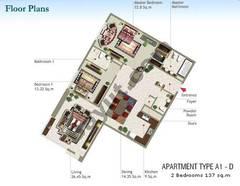 2 Bedroom Type A1-D