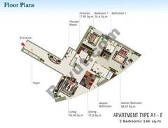 2 Bedroom Type A1-F