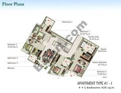 4 + 1 Bedroom Type A1-I