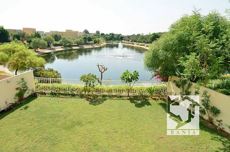 4 Bedroom Villa for Rent in The Meadows, Dubai - Partial Lake View Type 12 Immaculate