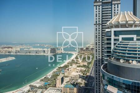 1 Bedroom Apartment for Rent in Dubai Marina, Dubai - High Floor apartments in Damac Heights