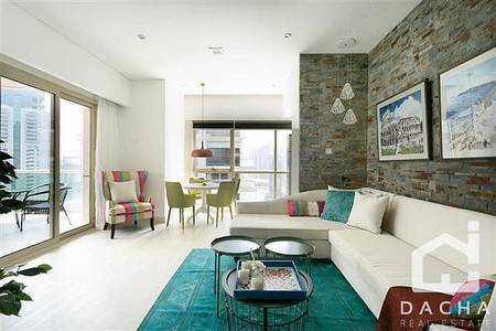 2 Bedroom Apartment for Rent in Dubai Marina, Dubai - FULLY FURNSIHED  CHILLER FREE  2 PARKING SPACES