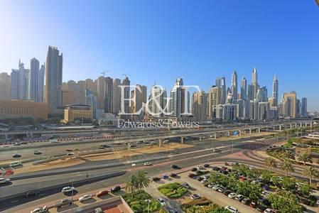 1 Bedroom Apartment for Rent in Jumeirah Lake Towers (JLT), Dubai - Marina Skyline view - Spacious apartment