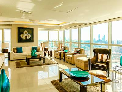 4 Bedroom Flat for Rent in Al Reem Island, Abu Dhabi - Fully Furnished 4+1 Maids Room with Balcony