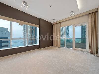 3 Bedroom Apartment for Rent in Dubai Marina, Dubai - Vacant 3 Beds with Sea View