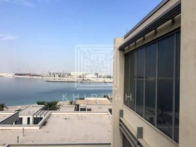 6 Bedroom Villa for Sale in Al Raha Beach, Abu Dhabi - Sea View! Luxurious 6BR Podium Villa in Al Zeina