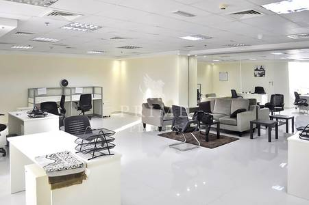 Office for Rent in Jumeirah Lake Towers (JLT), Dubai - Cheapest deal| fitted office with pantry|near metro