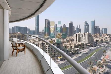 1 Bedroom Flat for Rent in Downtown Dubai, Dubai - Relaxation Zone - Refurbished NOW OPEN - 1 BR City view