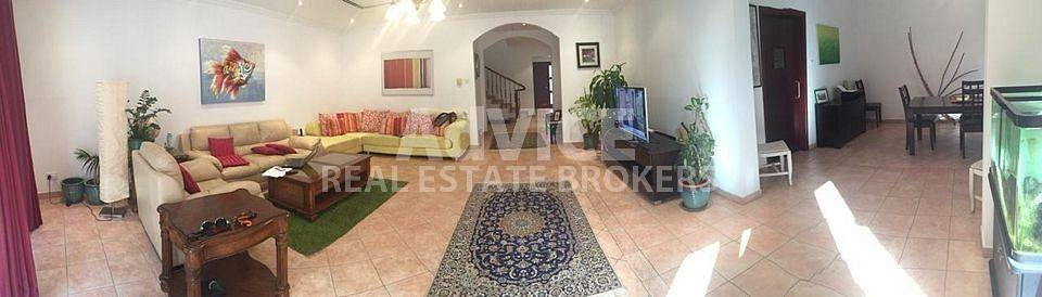 3 Bedroom Townhouse for Sale in Green Community, Dubai - Motivated seller|Vacant on Transfer|End unit