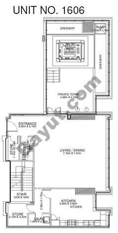 Studio - Unit 1606 - 16th Floor