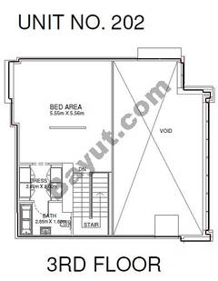 1 Br - Unit 202 - 3rd Floor