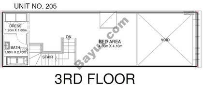 1 Br - Unit 205 - 3rd Floor