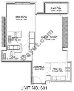 1 Br - Unit 601 - 6th Floor