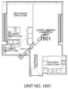1 Br - Unit 1801 - 18th Floor
