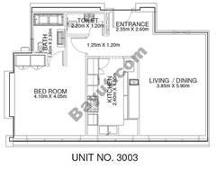 1 Br - Unit 3003 - 30th Floor