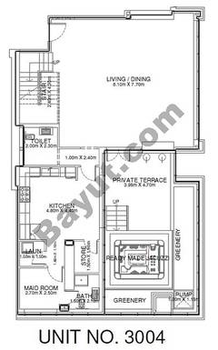 1 Br - Unit 3004 - 30th Floor