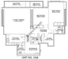 2 Br - Unit 1208 - 12th Floor