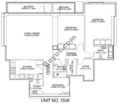 2 Br - Unit 1508 - 15th Floor