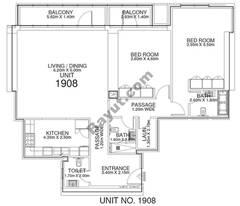 2 Br - Unit 1908 - 19th Floor