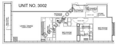 2 Br - Unit 3002 - 30th Floor