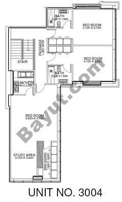 2 Br - Unit 3004 - 31th Floor