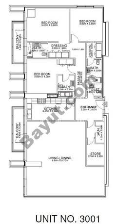 3 Br - Unit 3001 - 30th Floor