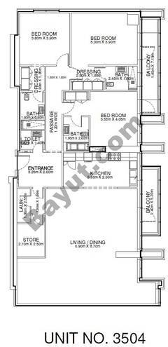 3 Br - Unit 3504 - 35th Floor