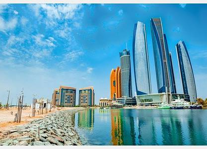 Plot for Sale in Nareel Island, Abu Dhabi - For sale land of the island of Naril 12 thousand square feet in front of the towers Uonuon