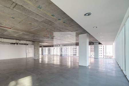 Office for Rent in Downtown Jebel Ali, Dubai - Shell and core office in The Galleries