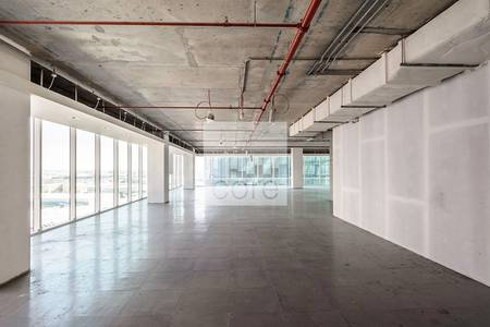 Office for Rent in Downtown Jebel Ali, Dubai - Grade A office for rent in The Galleries
