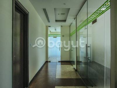 Office for Rent in Bur Dubai, Dubai - Rent for an Spacious Office in Oud Metha with Sustainability Agreement