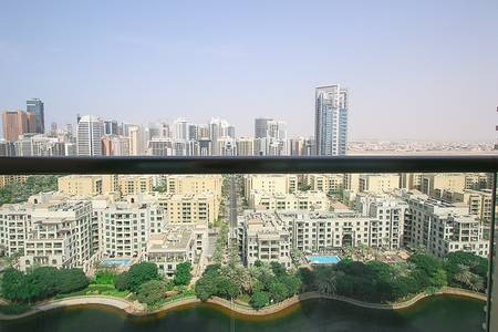 1 Bedroom Apartment for Rent in The Views, Dubai - Furnished|Lake View|Negotiable|HighFloor