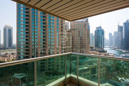 1 Bedroom Flat for Rent in Dubai Marina, Dubai - Fully furnished 2 Room Apt for Lease in EMAAR 6 Tower.