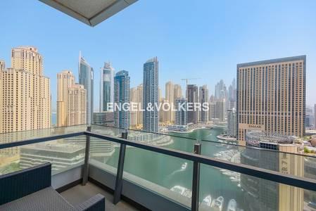 3 Bedroom Flat for Sale in Dubai Marina, Dubai - Full Marina View   Fully Furnished Unit