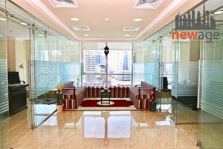Office for Rent in Jumeirah Lake Towers (JLT), Dubai - Fully Furnished Office For RENt in JLT!!