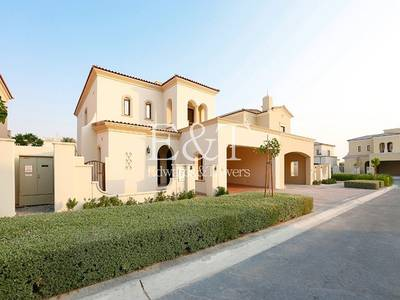 3 Bedroom Villa for Rent in Arabian Ranches 2, Dubai - Cheapest 3 Bed |Single Row | White Wood