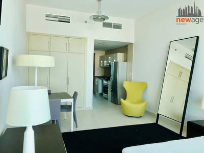 Studio for Rent in Al Sufouh, Dubai - Furnished Studio Flat For RENT in Hillian Tower