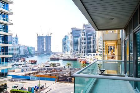 2 Bedroom Apartment for Rent in Dubai Marina, Dubai - 2 Bedroom | Chiller Free | Marina View