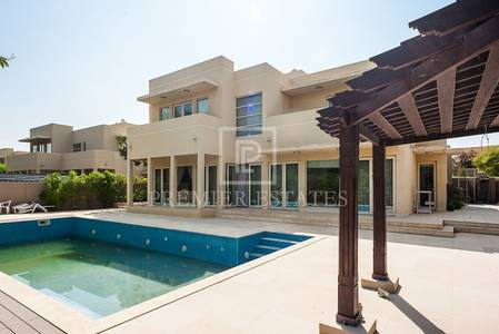 5 Bedroom Villa for Rent in Arabian Ranches, Dubai - Upgraded Type 4 Villa with Private Pool