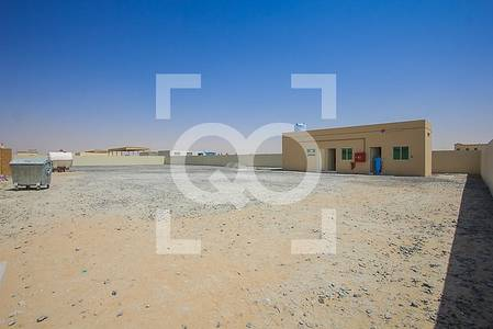 Plot for Rent in Al Saja, Sharjah - Open Yard | Office Space with Pantry and Toilet | Al Sajaa Sharjah