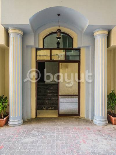 1 Bedroom Flat for Rent in Ajman Industrial, Ajman - Spacious 1 BHK Available in Entrance of the Ajman opposite Thumbay Hospital AED 22,000 / Yearly