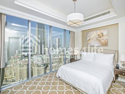 1 Bedroom Flat for Rent in Downtown Dubai, Dubai - Biggest layout|Sea View |Luxury Building