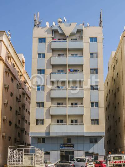 1 Bedroom Apartment for Rent in Ajman Industrial, Ajman - Spacious 1 BHK  Available in Entrance of the Ajman opposite Thumbay Hospital AED 22,000 / yearly