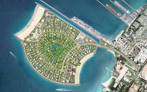 Plot for Sale in Pearl Jumeirah, Dubai - Direct Beachfront Plot for Sale